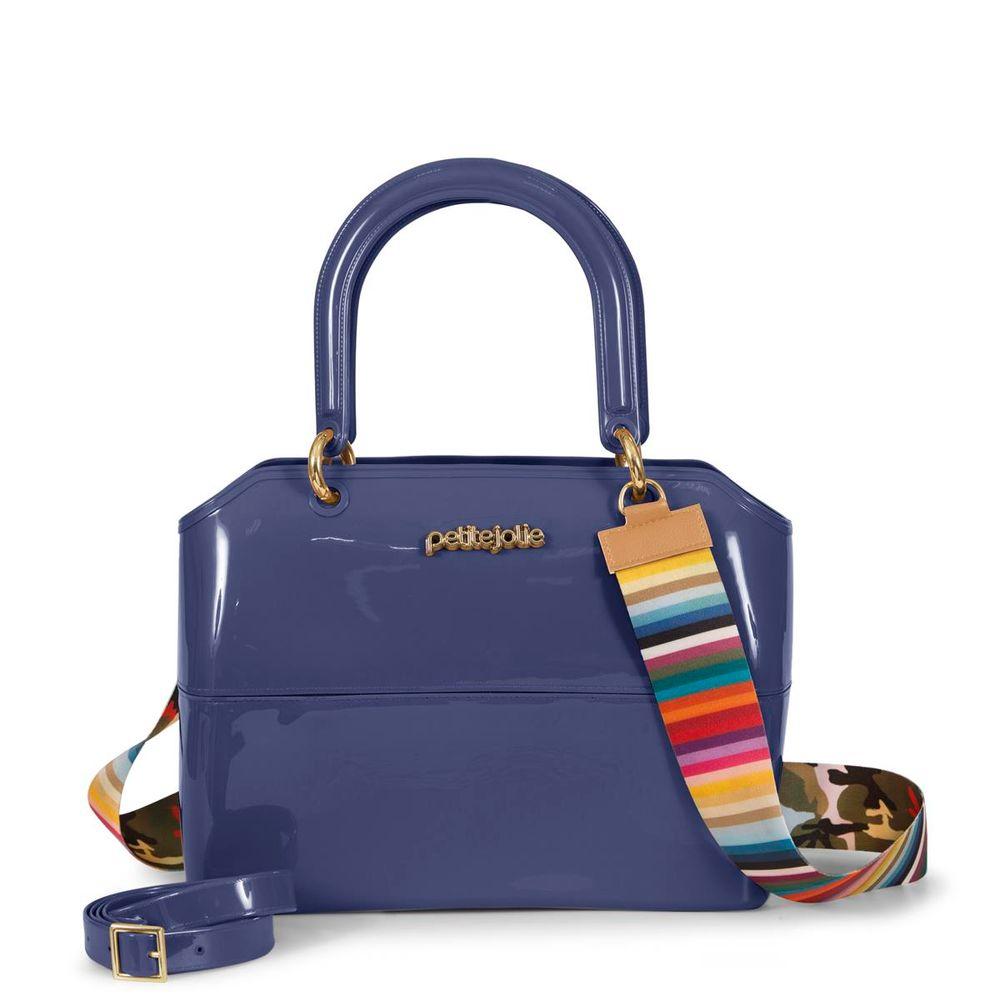 753a08bdd5 Bolsa Zipbag PJ3177 Azul Escuro - Petite Jolie