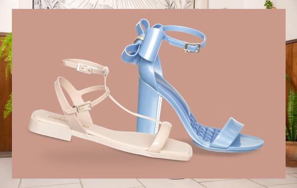 Vitrine Calçados Sandálias